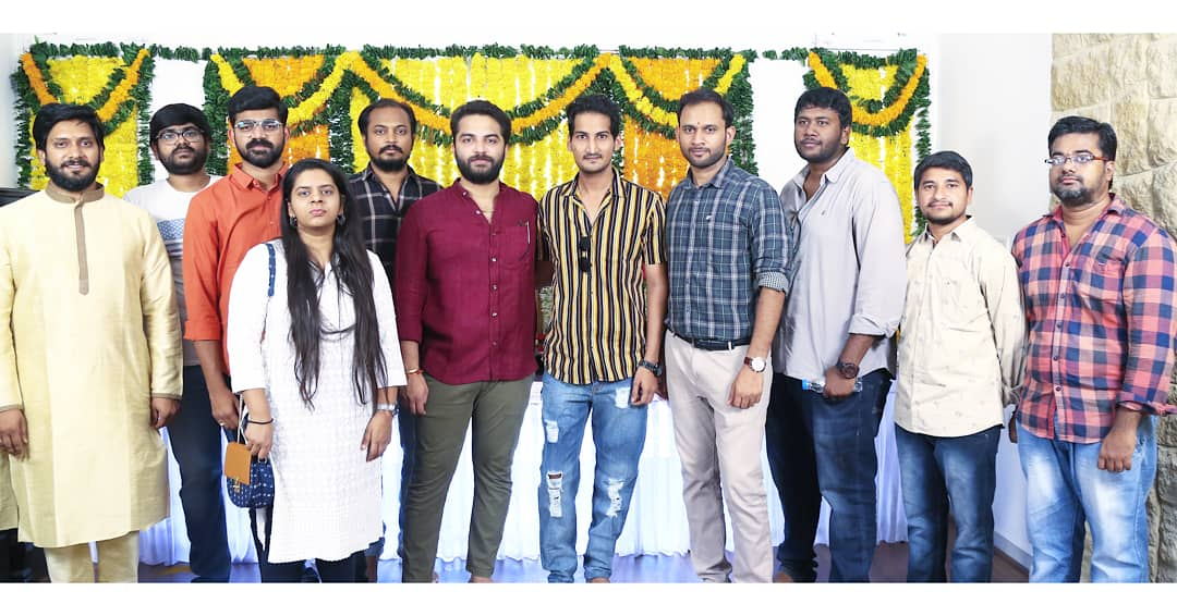 Vishwak Sen's 'CARTOON' Movie Launched