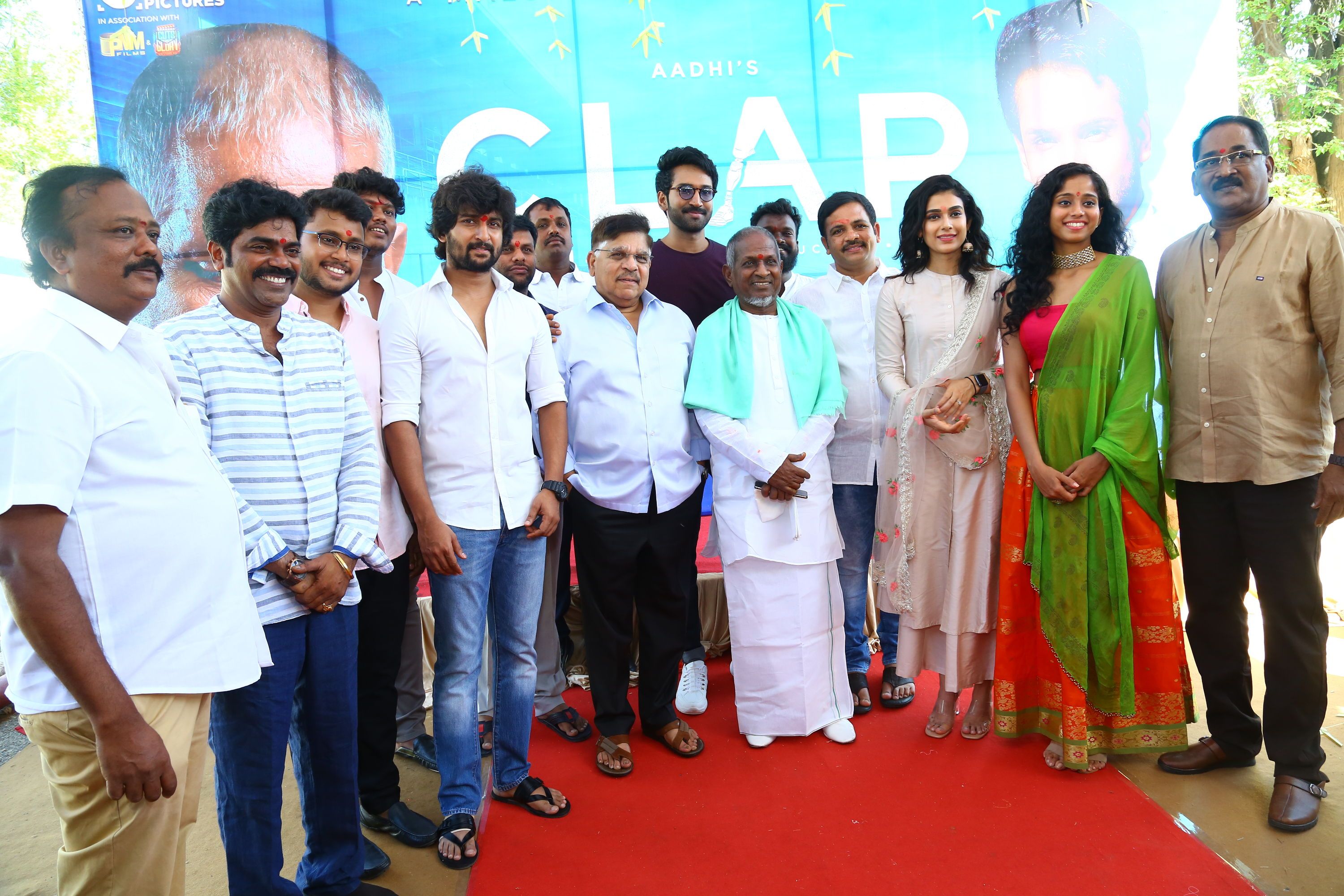 "Actor Aadhi's ""Clap – The Sound of Success"" launched with ritual ceremony"