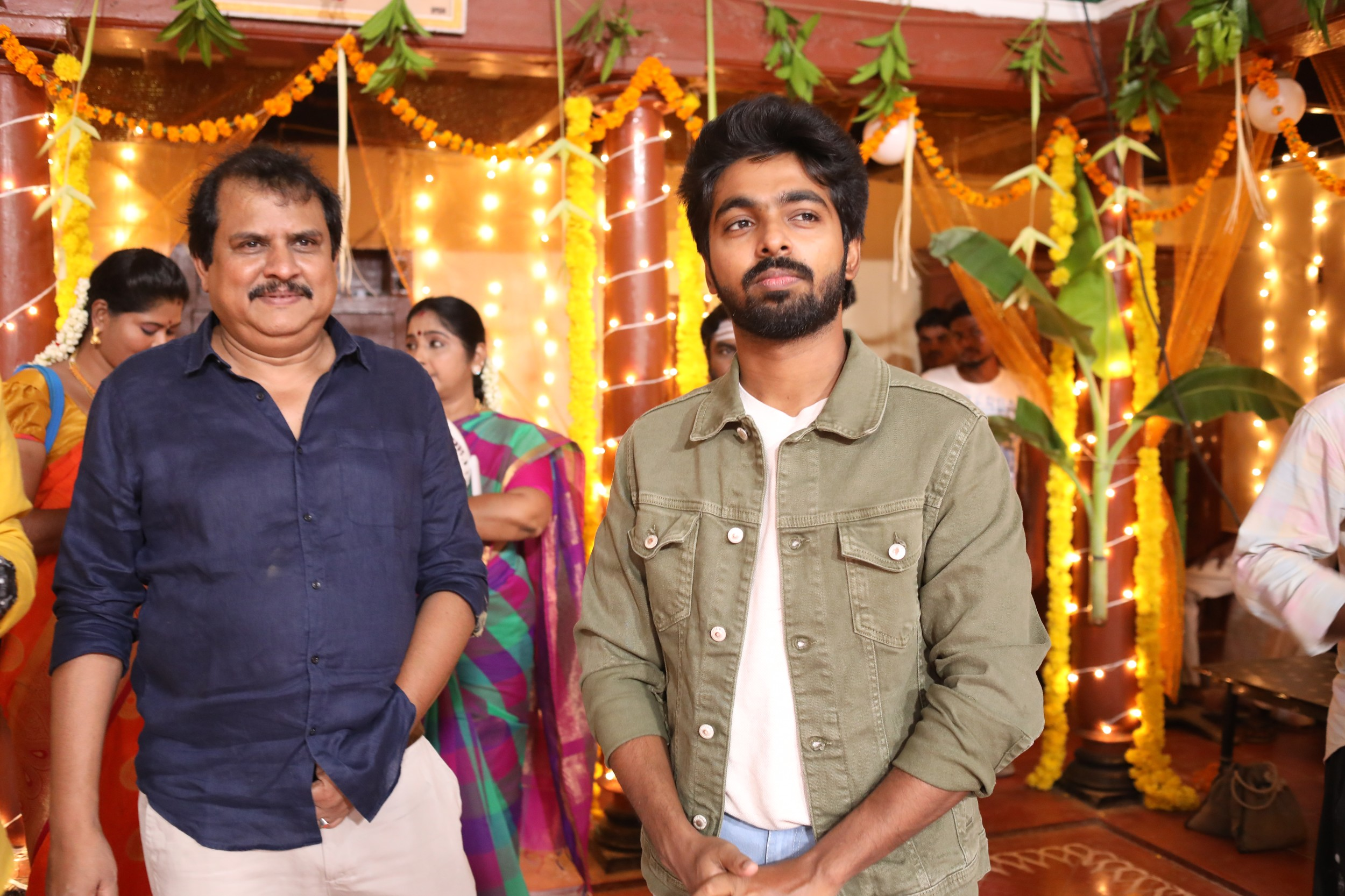 Actor GV Prakash Aayiram Jenmangal movie directed by Ezhil