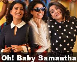 Actress Samantha Oh Baby HD Photos