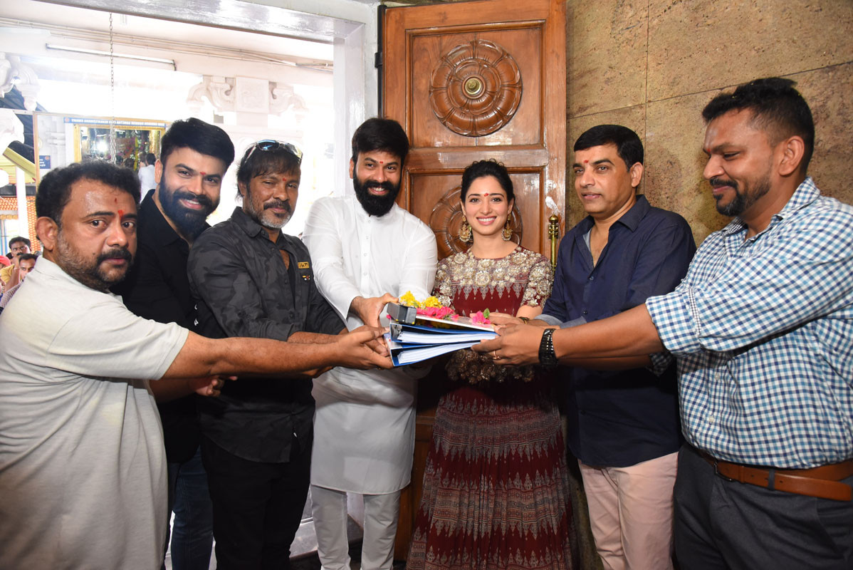 Actress Tamannaah Bhatia's New Film Raaju Gari Gadhi 3 Launched