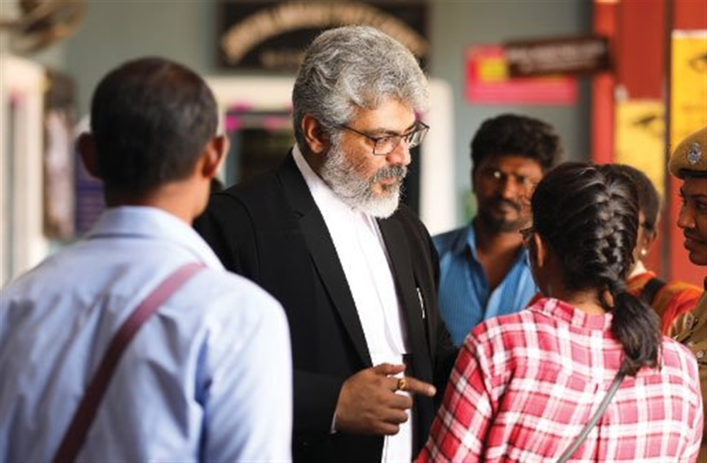 Ajith @ Ner Konda Paarvai Working Stills