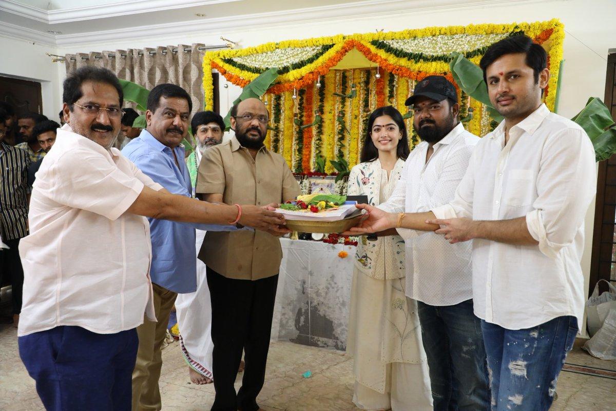 Bheeshma telugu movie launched