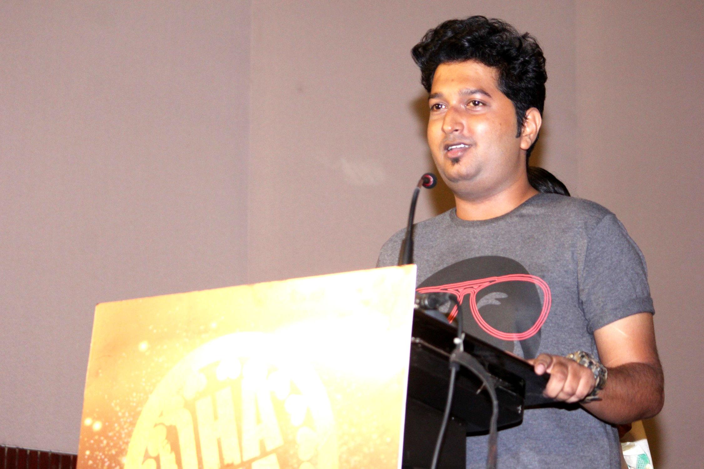 Dhadha 87 Movie Music Director Leander Lee Marty breaks into Kannada Film Industry.