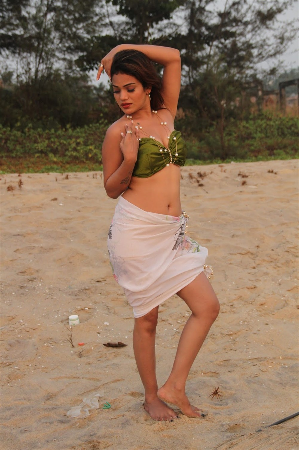 Heroine Aakarshika Goyal in Naa Peru Raja Movie Stills