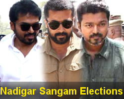 Nadigar Sangam Elections 2019 Photos