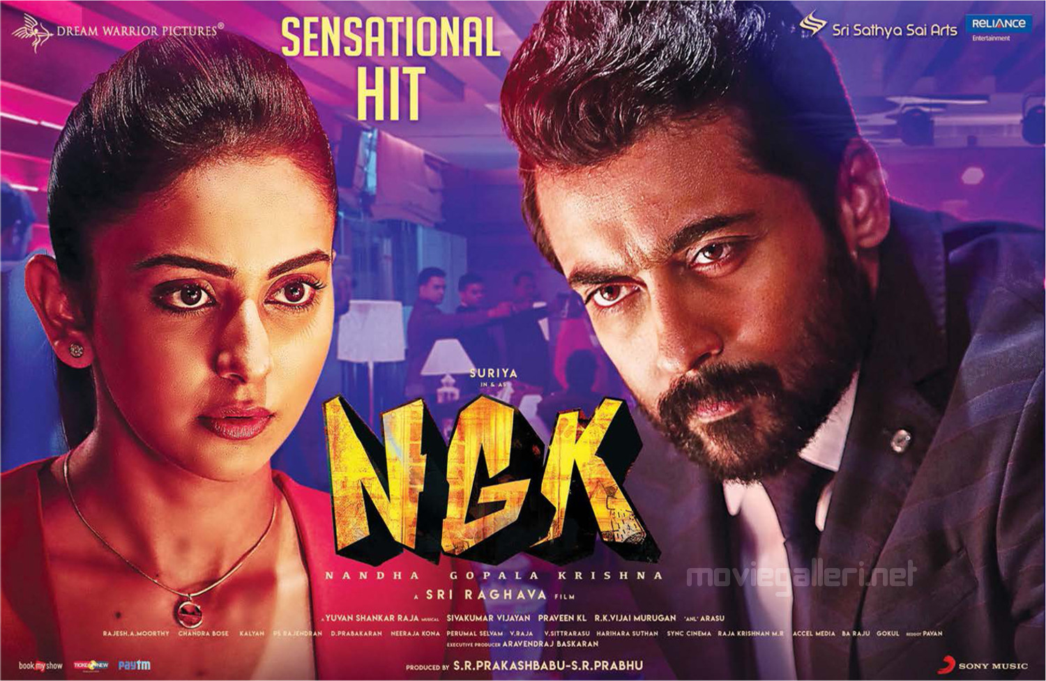 Rakul Preet Singh, Suriya in NGK Movie Sensational Hit Posters