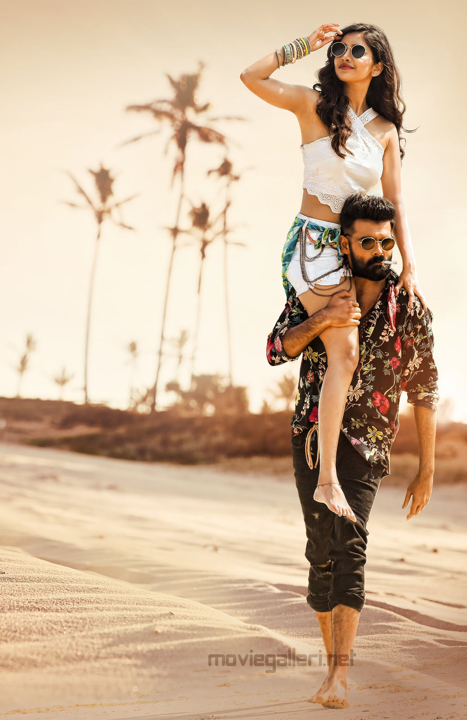 Ram Pothineni Nabha Natesh iSmart Shankar movie song shooting in Maldives