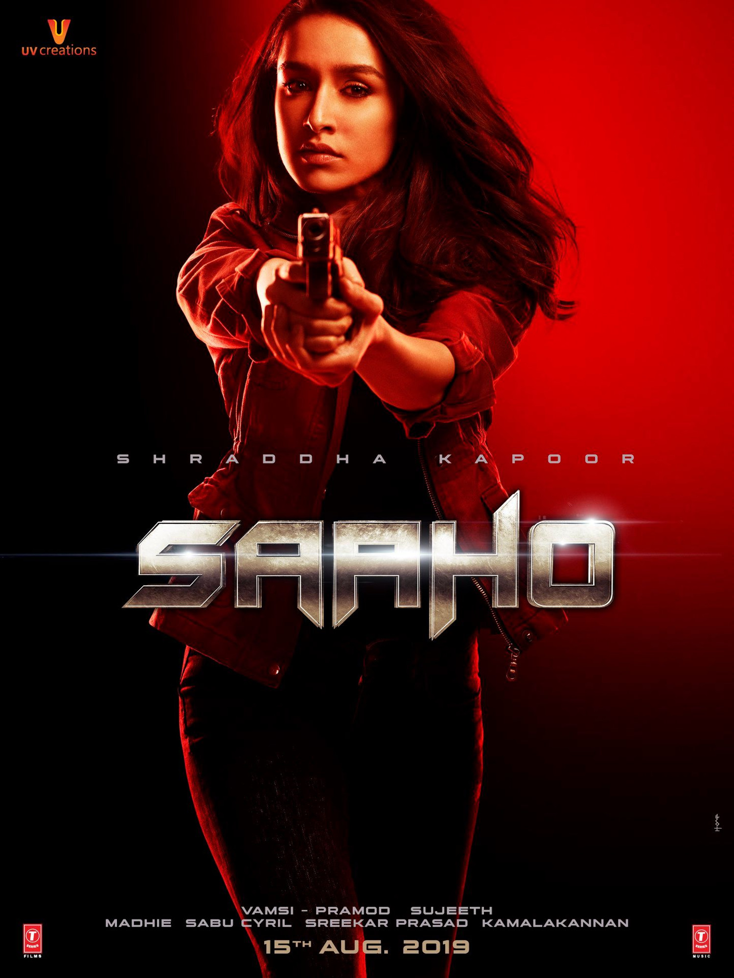 Shraddha Kapoor Saaho Movie Teaser Releasing on 13th June