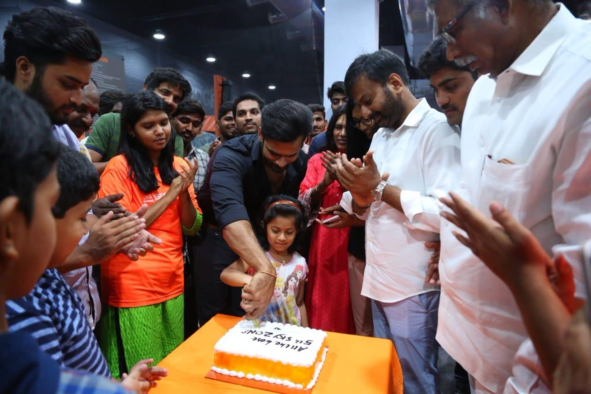 Supreme hero Saidharamtej launched Sky Zone Hyd Sharath Capital City Mall, Kondapur today, alongside CEO