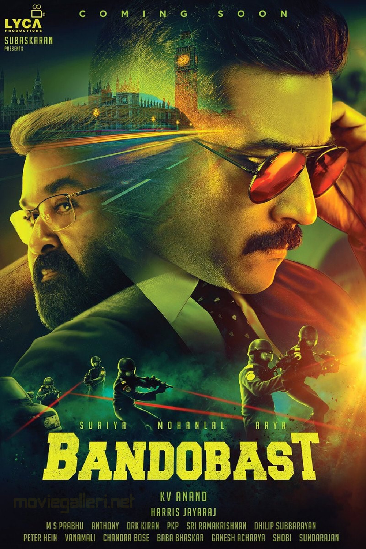Suriya Mohanlal Bandobast First Look Poster