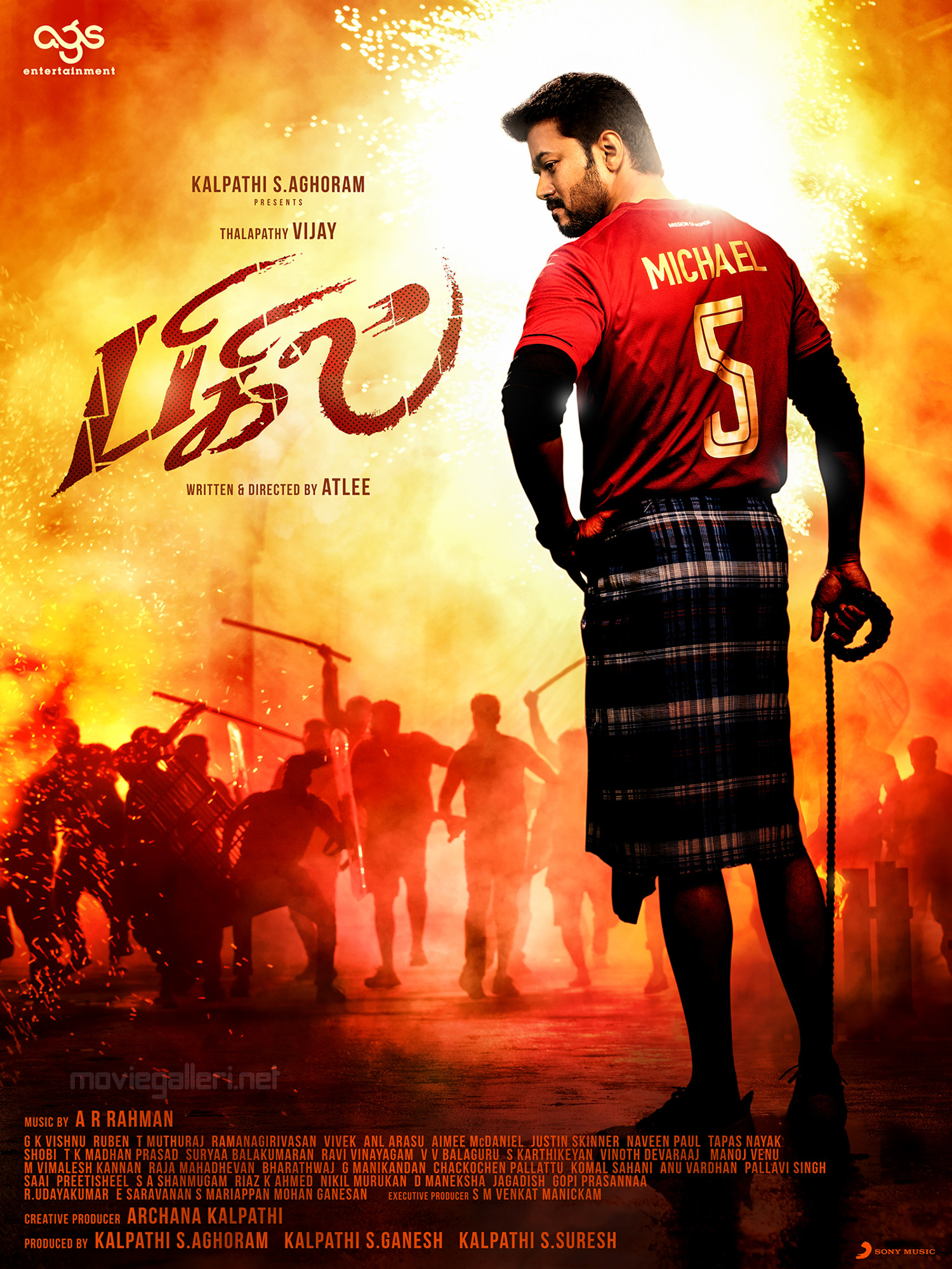 Vijay Bigil Movie 3rd Look Poster HD