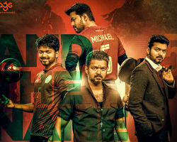 Vijay Bigil Second Look Poster
