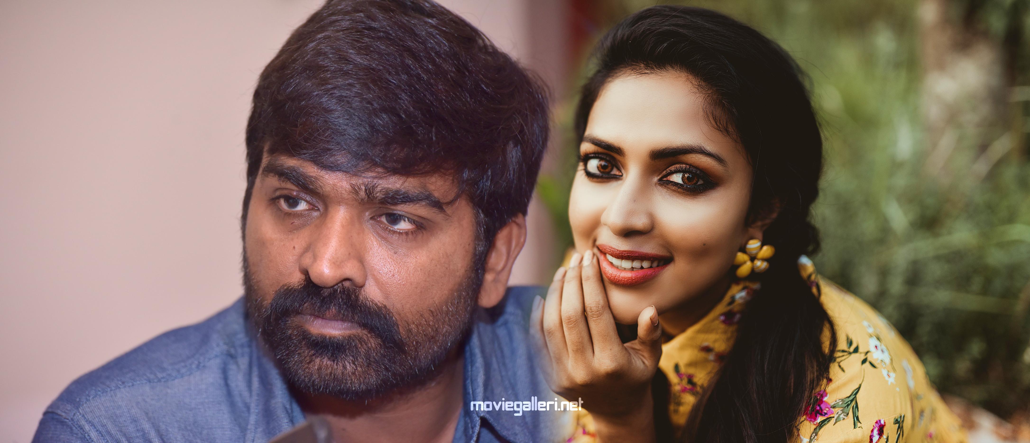 Vijay Sethupathi Amala Paul Movie launched in Palani