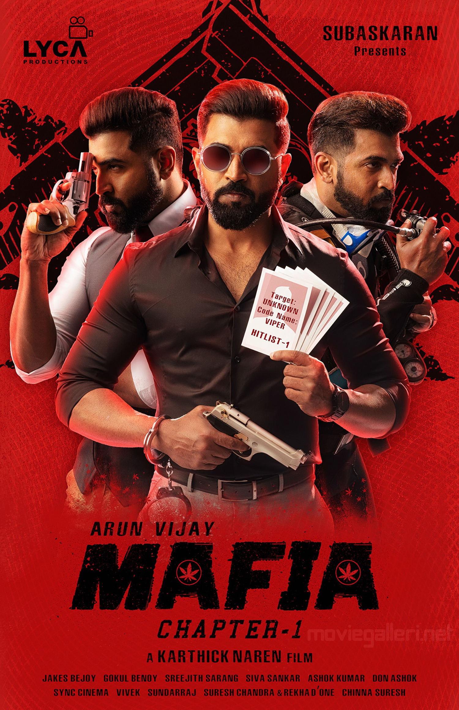 Actor Arun Vijay Mafia First Look Poster HD