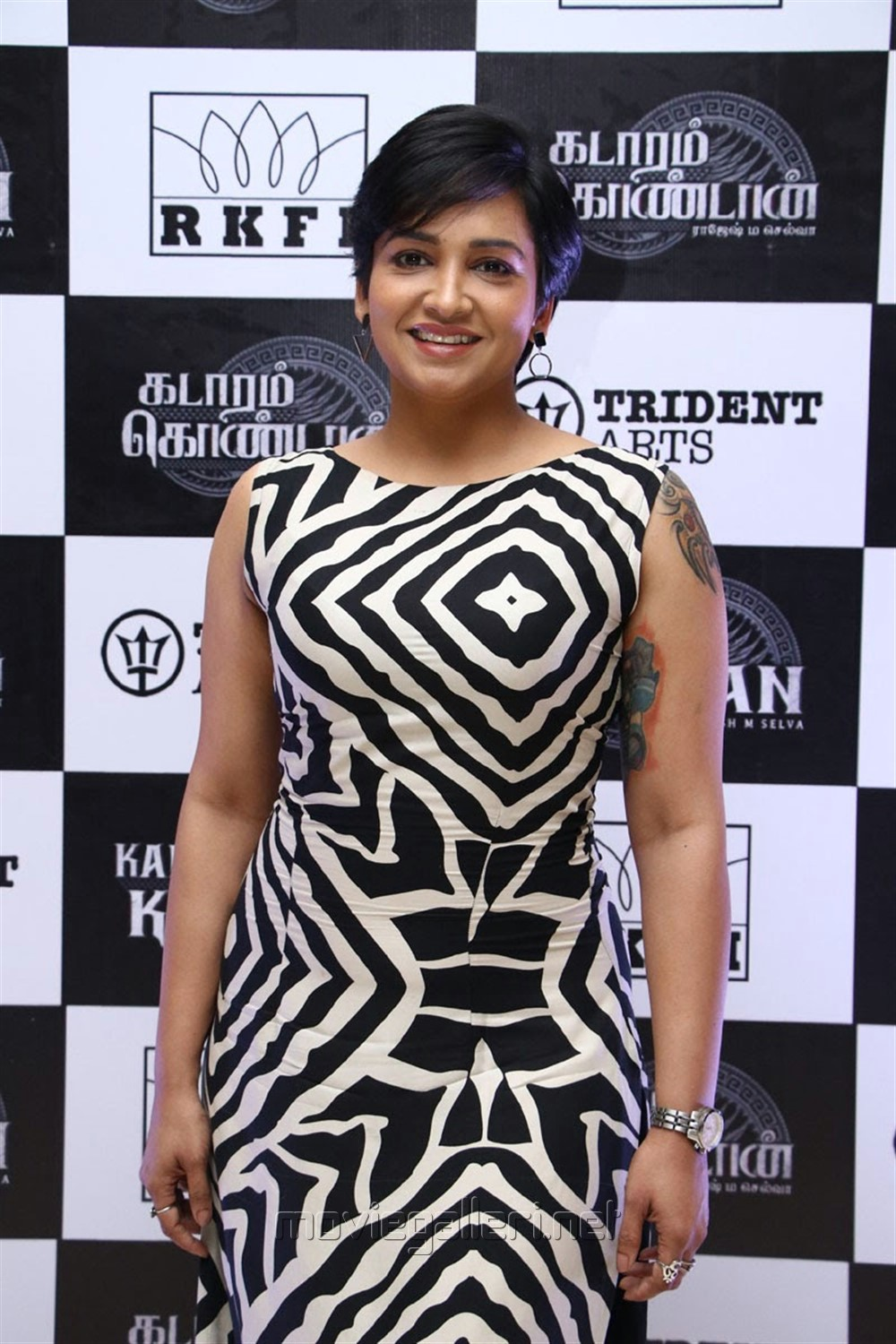 Actress Lena Kumar Images HD @ Kadaram Kondan Trailer Launch