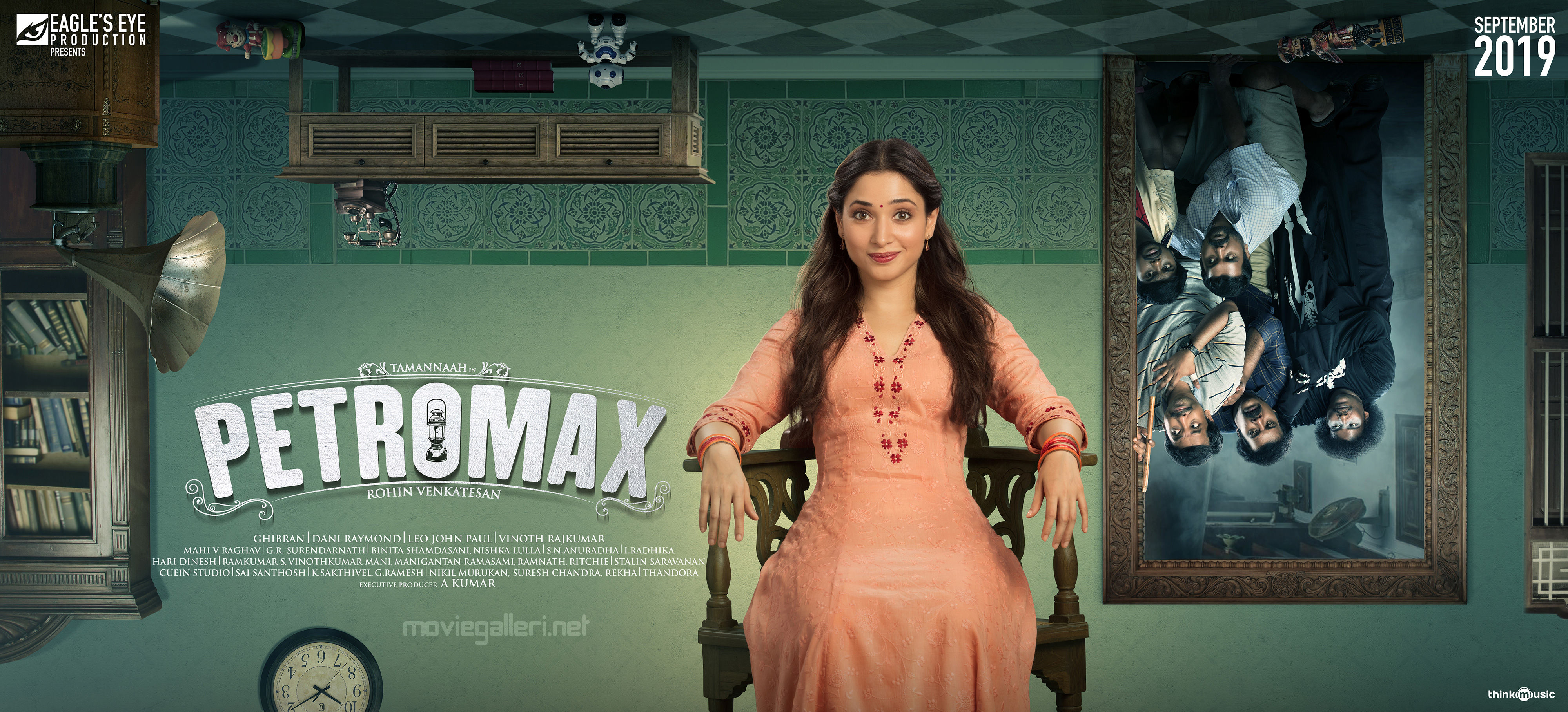 Actress Tamannaah Petromax Movie First Look Posters HD