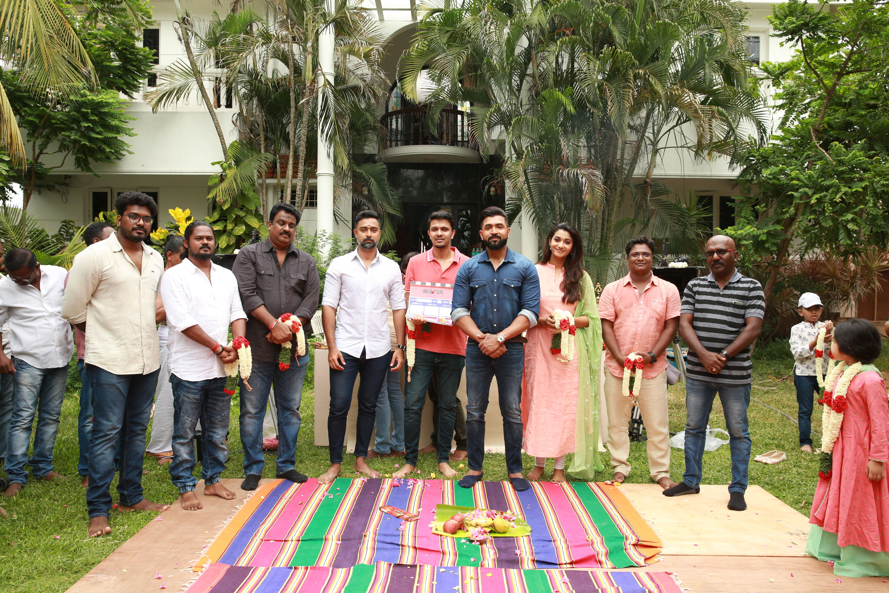 Arun Vijay Karthick Naren MAFIA Movie Launched