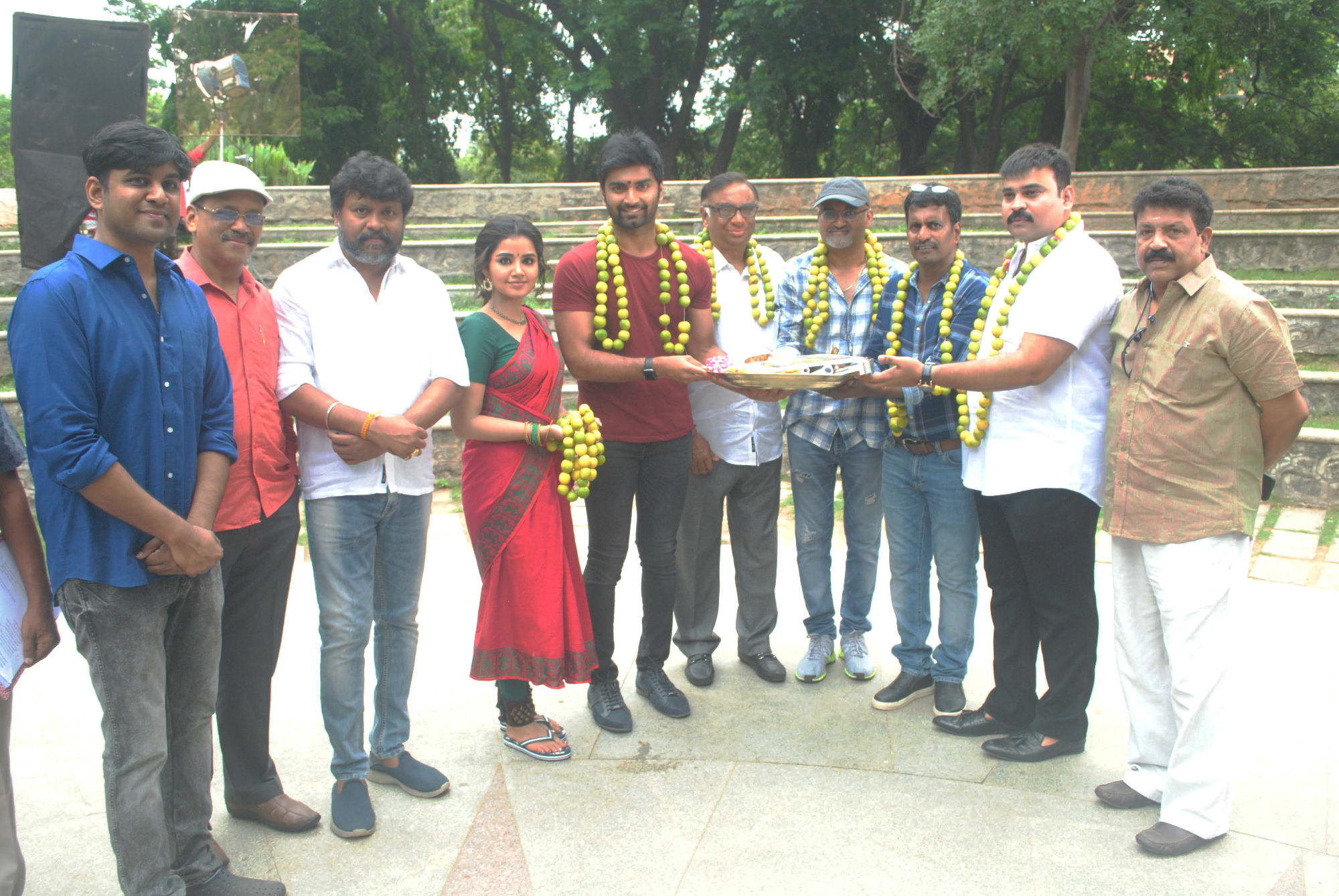 Atharvaa Murali and Anupama Parameswaran