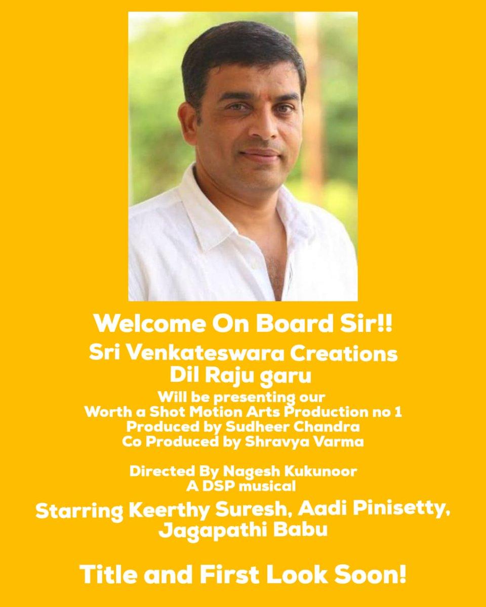 Dil Raju present Keerthy Suresh Sports Romedy Film