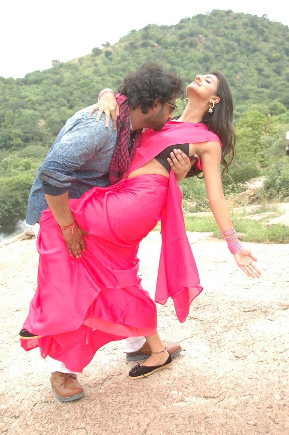Manjunath, Tanishka in Maa Oori Prema Katha Movie Stills