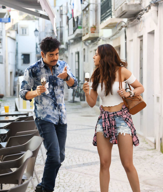 Nagarjuna Rakul Preet 'Manmadhudu 2' completed shooting