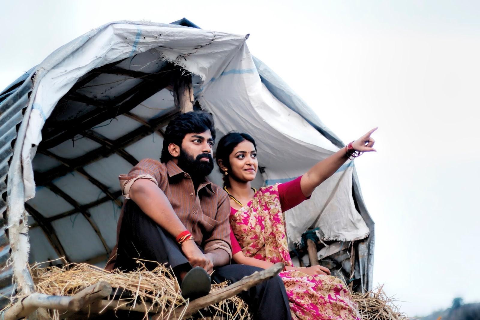 Rakshith, Nakshatra in Palasa Movie Stills