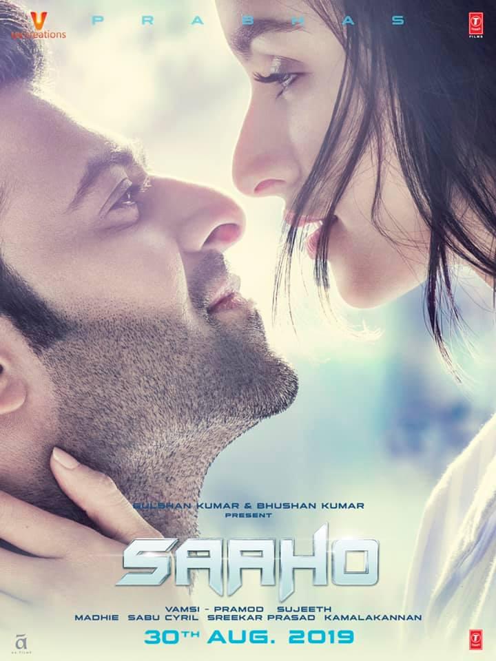 Saaho new poster trending in social media