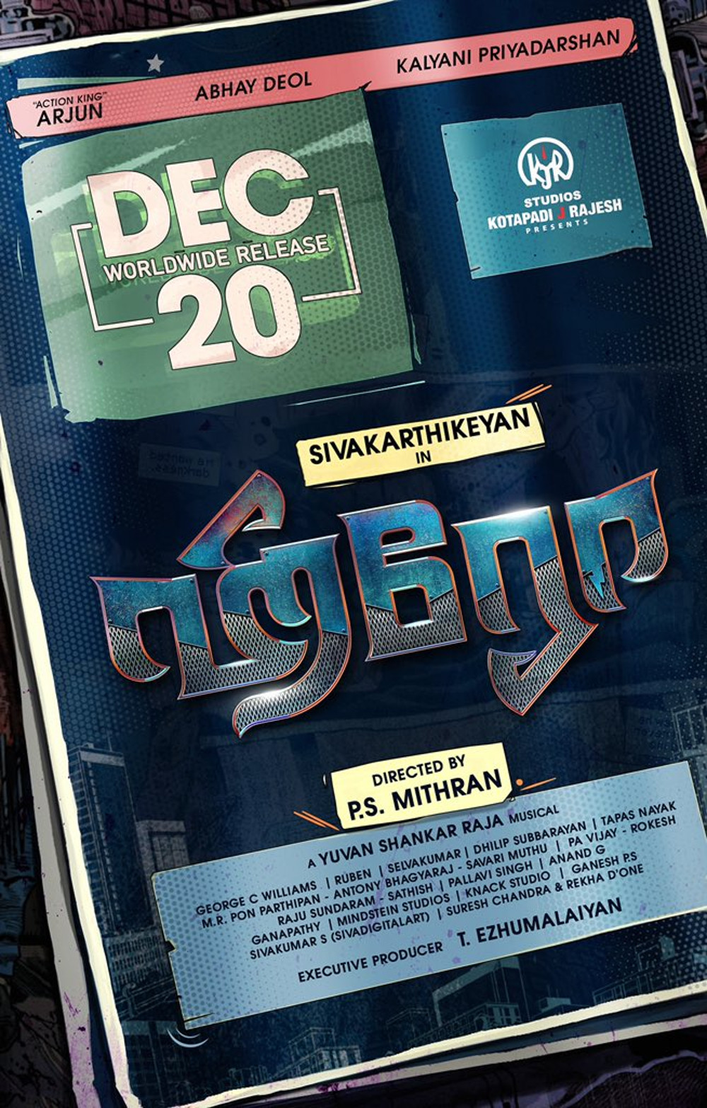 Sivakarthikeyan's Hero Movie Release Date on Dec 20