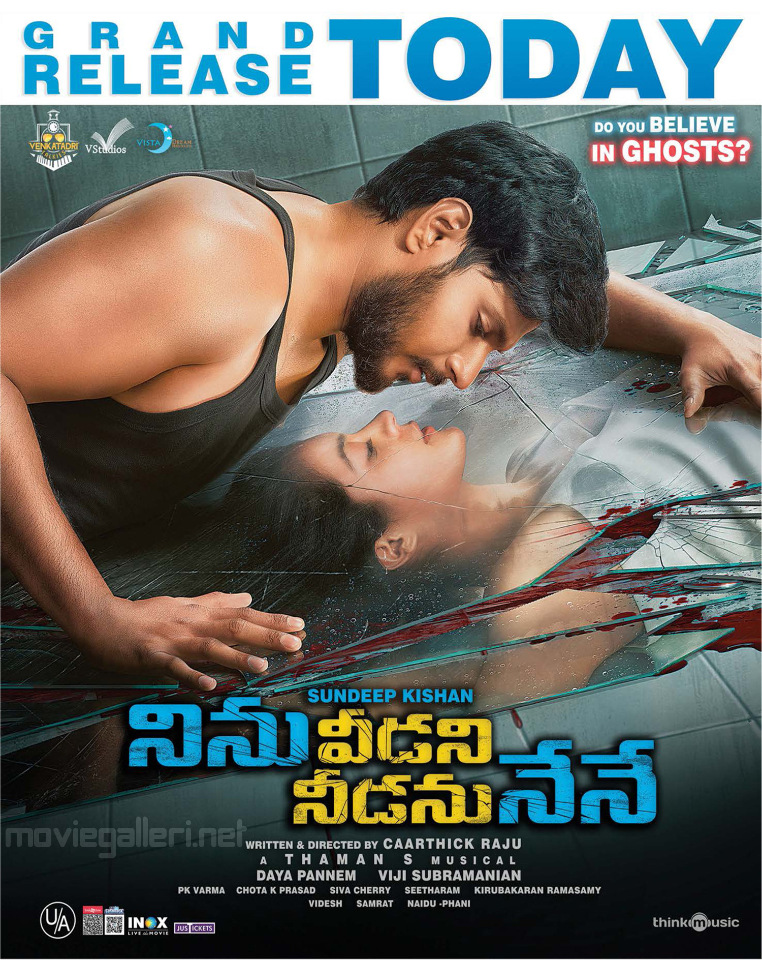 Sundeep Kishan Anya Singh Ninu Veedani Needanu Nene Movie Grand Release Today Posters