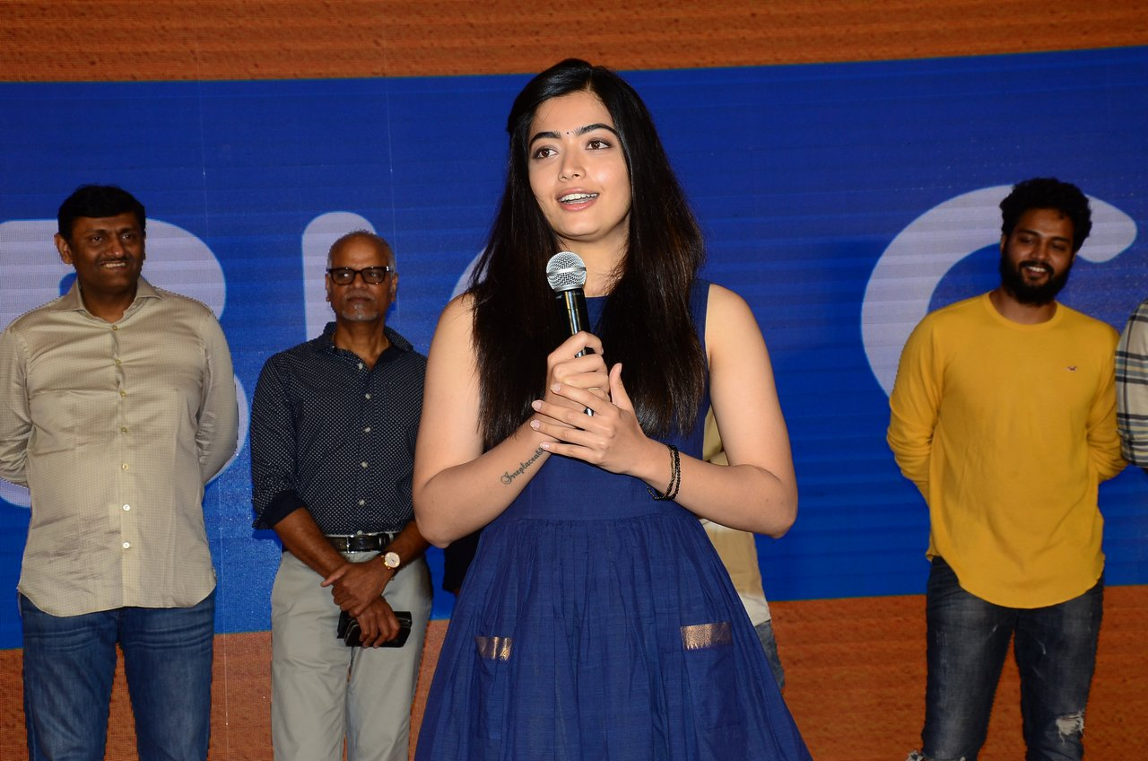 Telugu Actress Rashmika Mandanna New Photos at Dear Comrade