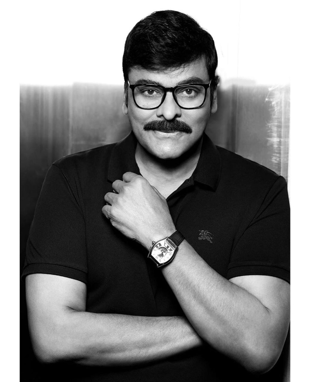 Actor Chiranjeevi New Look Photos