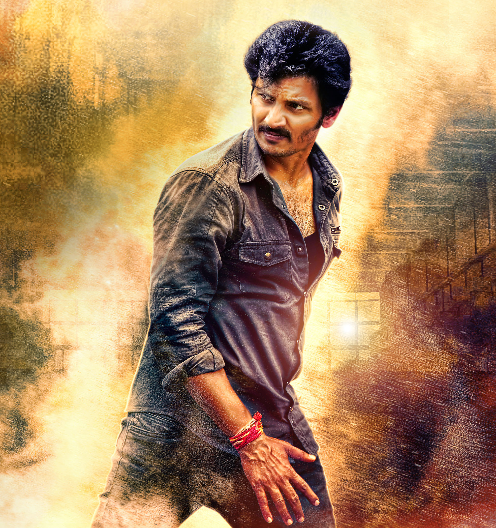 Actor Jiiva Seeru Movie First Look HD Image
