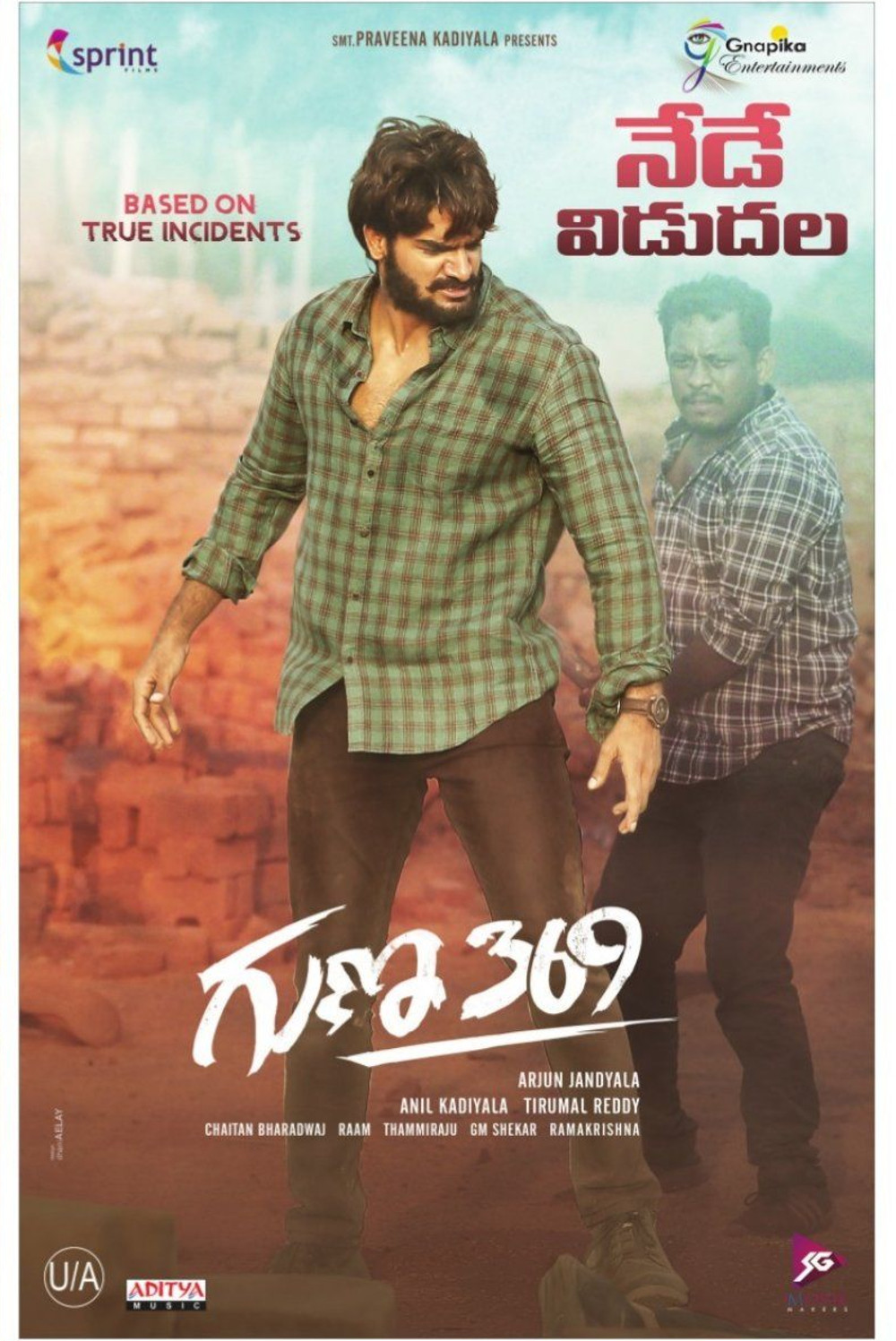 Actor Karthikeya in Guna 369 Movie Release Today Posters