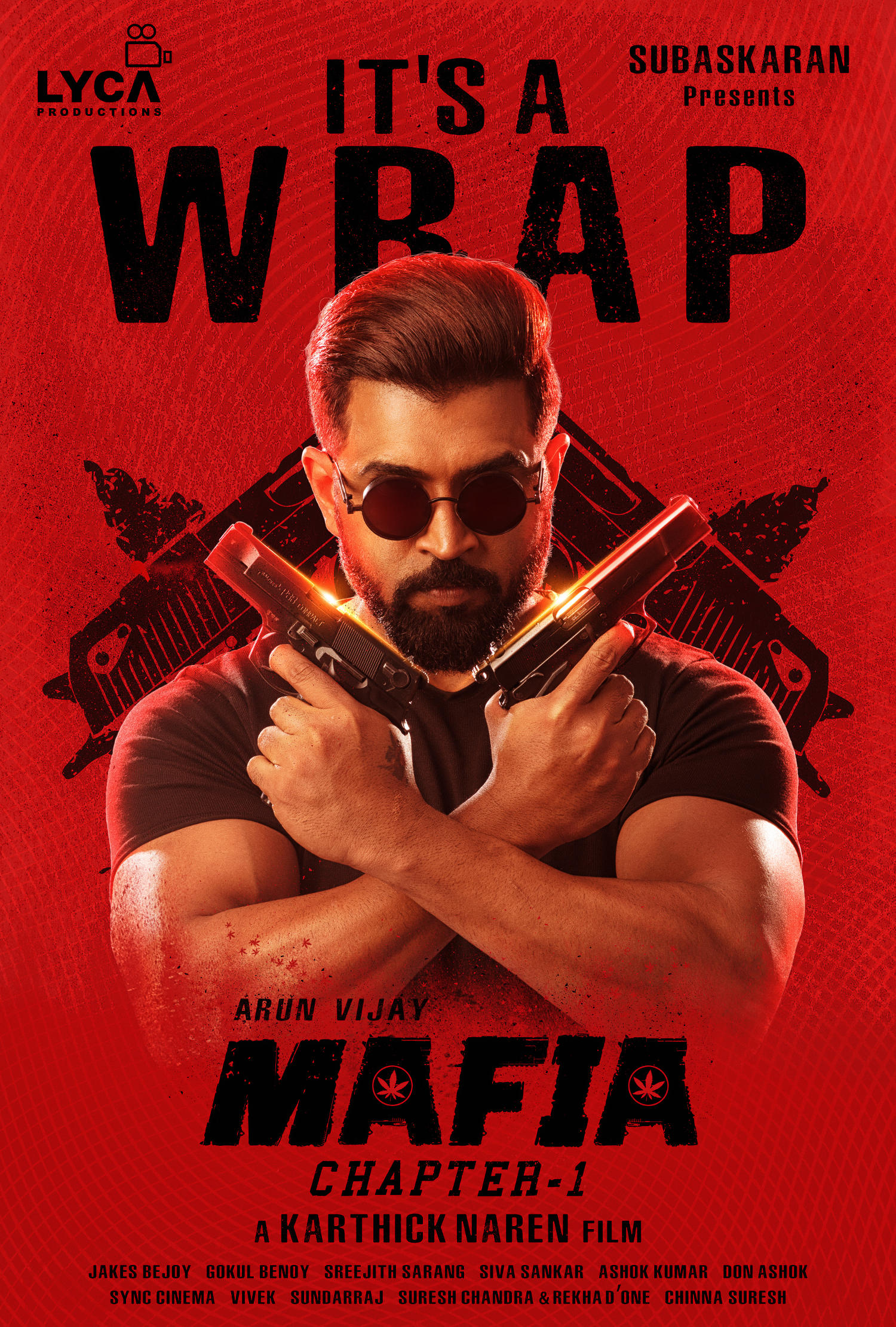 "Arun Vijay ""MAFIA"" Movie Shooting Wrapped Up   New Movie ..."