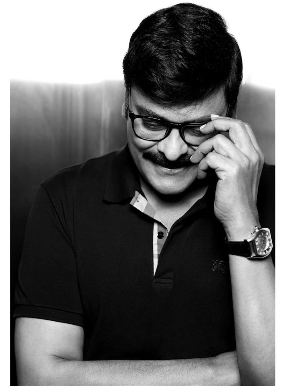 Hero Chiranjeevi New Look Photos