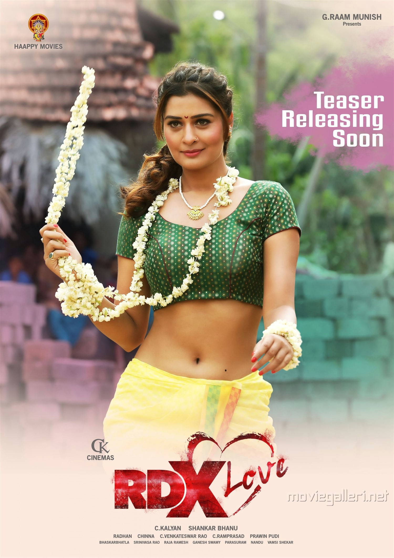Heroine Payal Rajput RDX Love Movie Posters HD