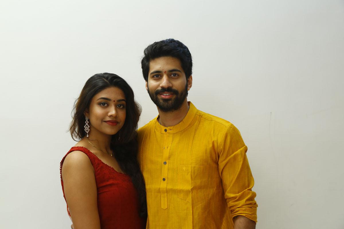 Malavika Satheesan Viswant Boyfriend For Hire Movie Launch Stills