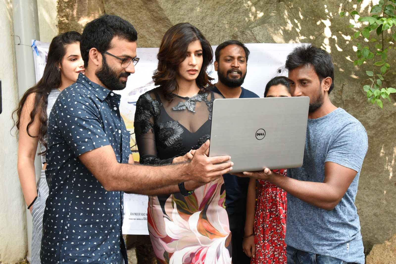 Manchu Lakshmi Launched Hawaa Theme Song Photos
