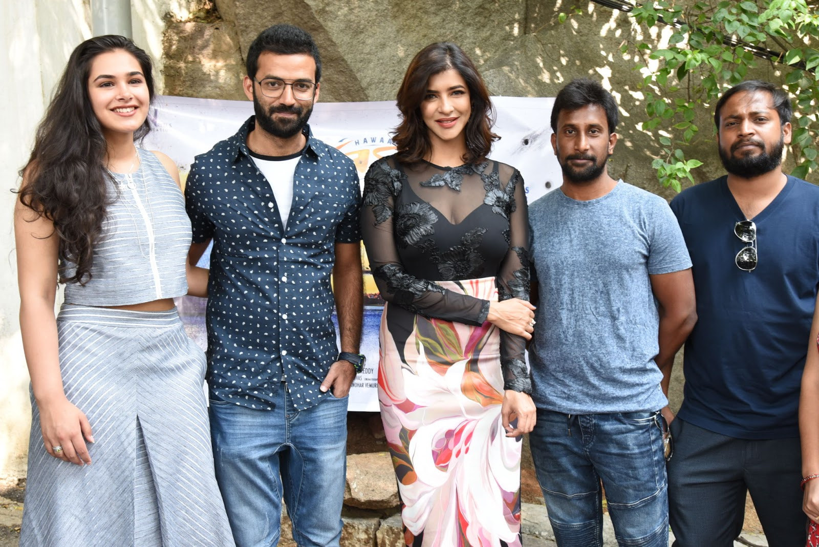 Manchu Lakshmi Launched Hawaa Theme Song