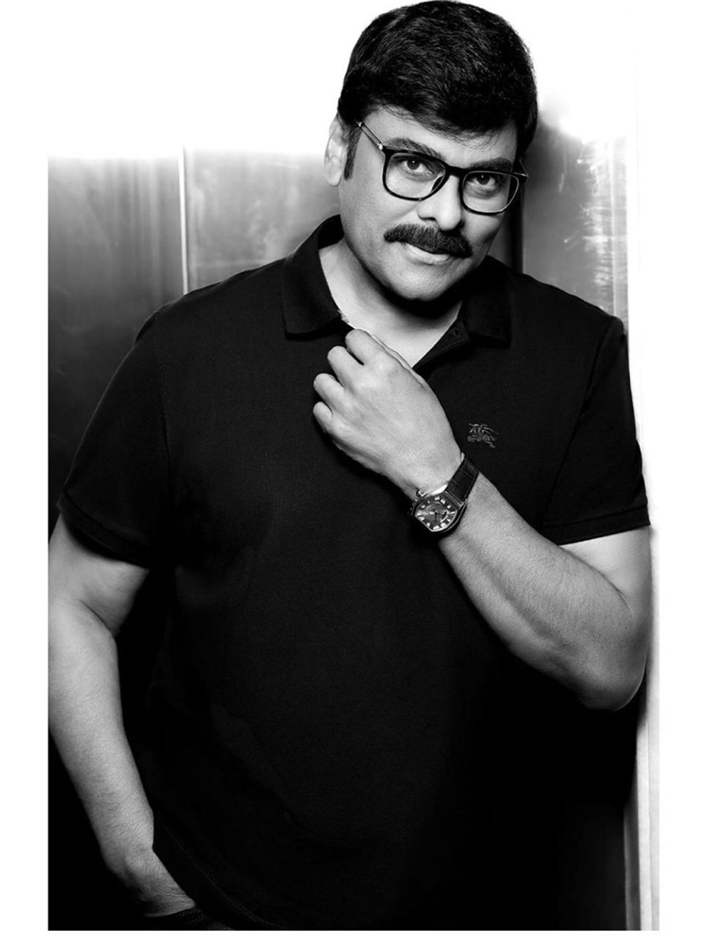 Megastar Chiranjeevi New Look Photos