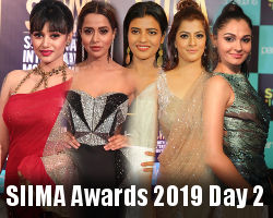 SIIMA Awards 2019 Day 2 Event Stills | New Movie Posters