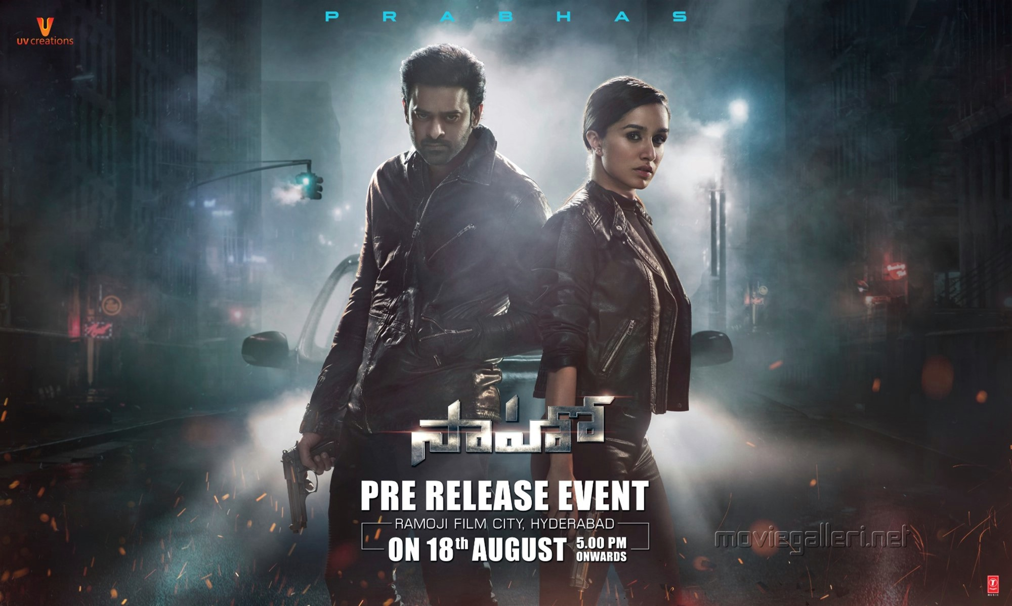 Prabhas Shraddha Kapoor Saaho Pre Release Event on 18th August Wallpapers HD