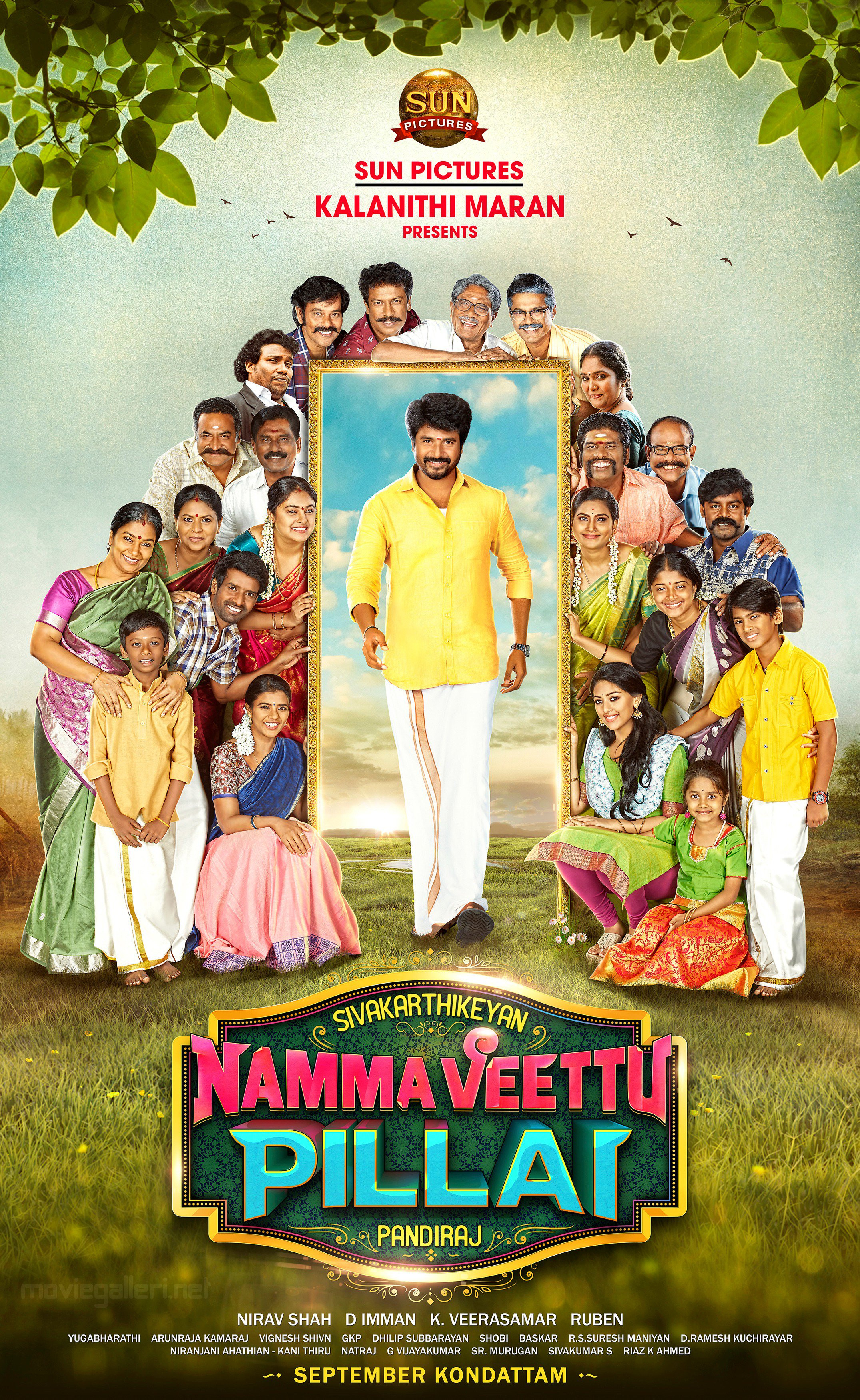 Sivakarthikeyan Namma Veetu Pillai Second Look Poster HD