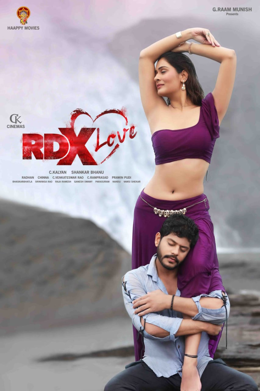 Tejus Kancherla Payal Rajput RDX Love Movie First Look Poster