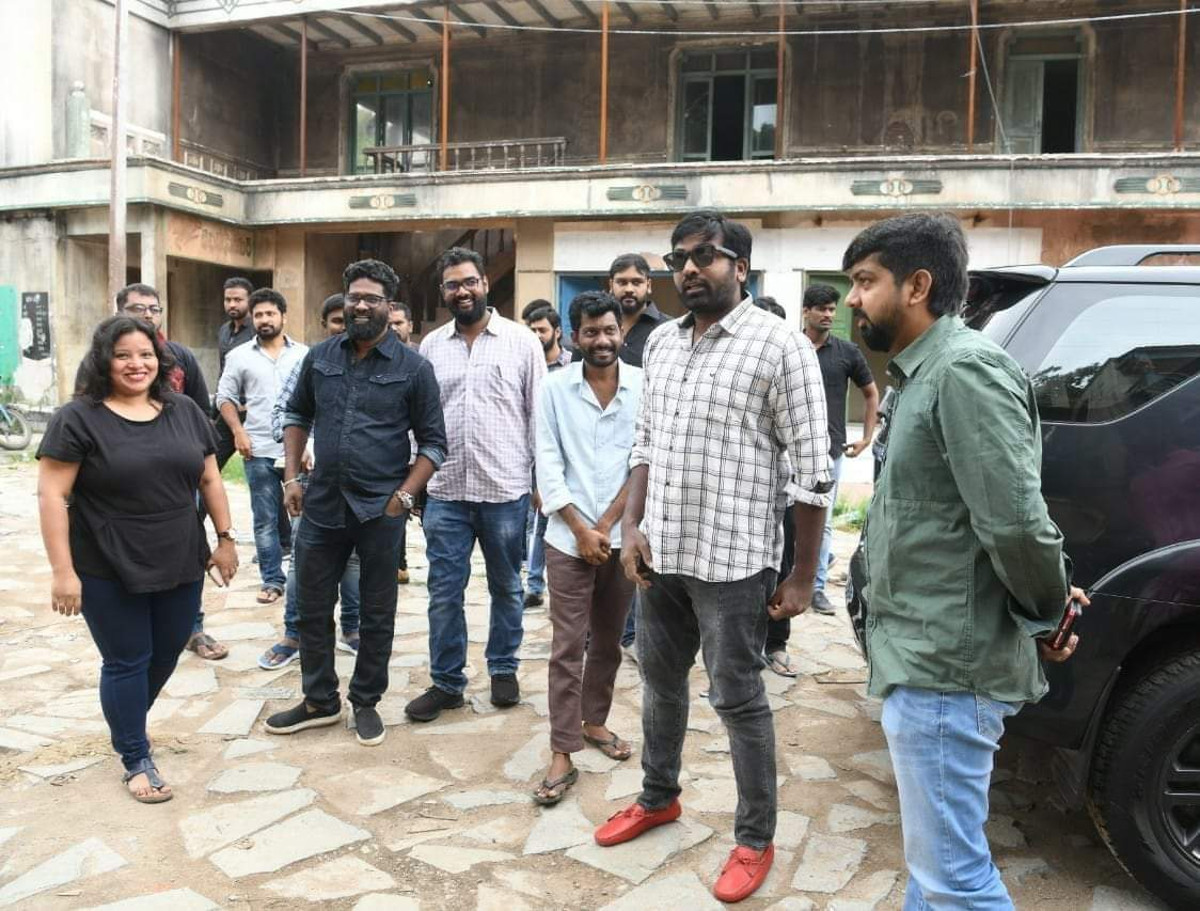 Actor Vijay Sethupathi starts shooting for Panja Vaisshnav Tej Uppena Movie