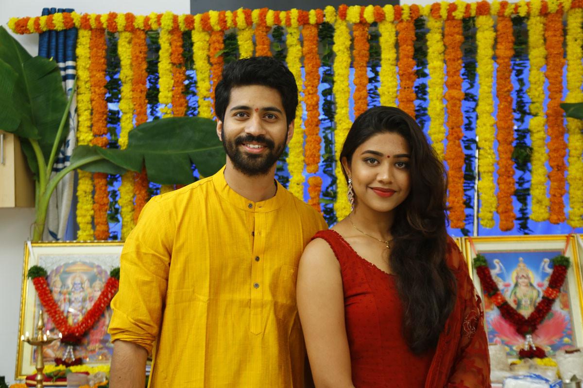 Viswant Malavika Satheesan Boyfriend For Hire Movie Launch Stills
