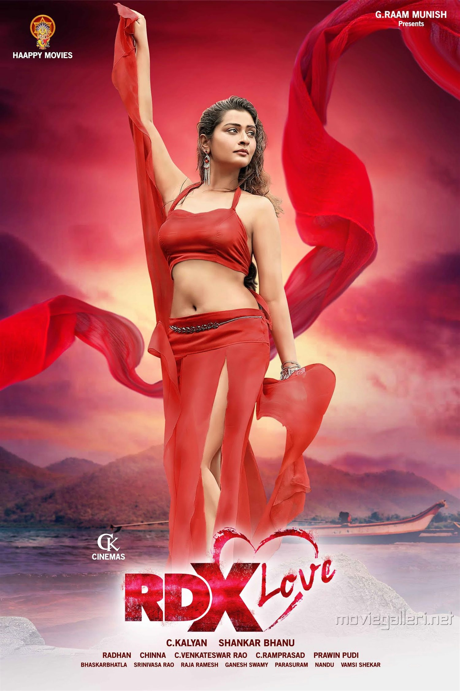aCTRESS Payal Rajput RDX Love Movie Posters HD