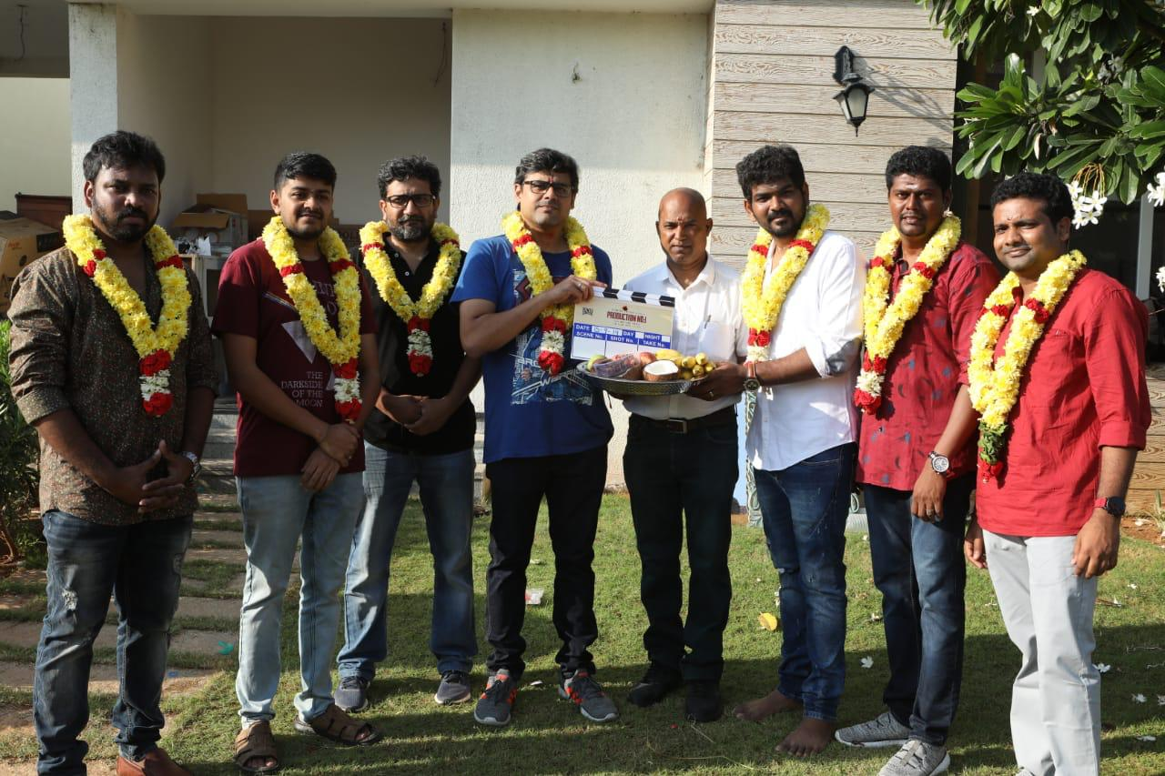 Actress Nayanthara Netrikann Movie Launched