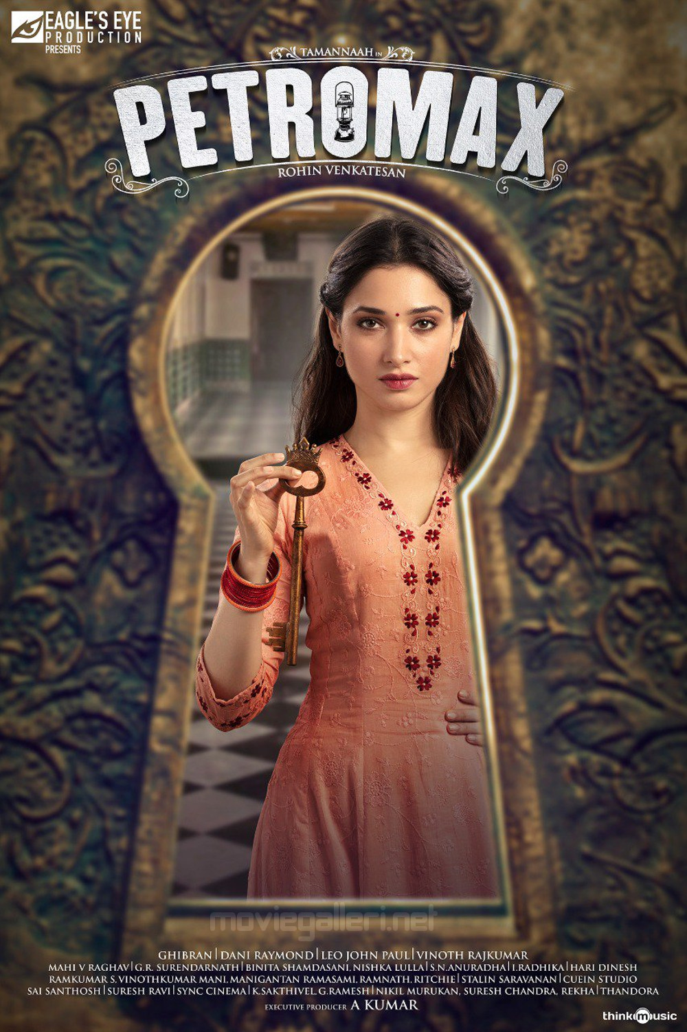 Actress Tamannaah Petromax Movie Second Look Posters